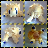 Joltik plush by LRK-Creations