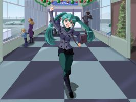 Miku Arrives Part 4 of 6 by wbd