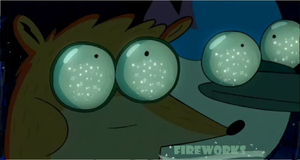 Fireworks from Regular show by chaoartwork39