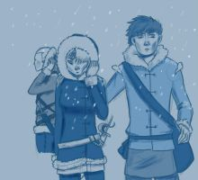 HTTYD: Facing the snow (sketch) by fUnKyToEs