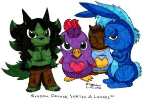 Syndow and Friends by trinityweiss
