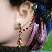 Autumn Pumpkins Earrings by merigreenleaf
