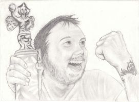 Isaac Brock Sketch2 by xHungryGhostx