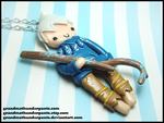 Jack Frost Necklace by GrandmaThunderpants