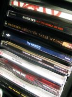 Current CD Collection by AnaMesquitaPhotos