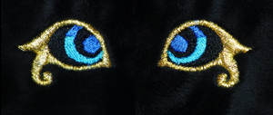 Gold-rimmed eyes WIP Plush teaser by goiku
