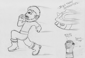 BSC Doodles - Donnie Luck II: Hit Donnie Harder by ADHedgehog