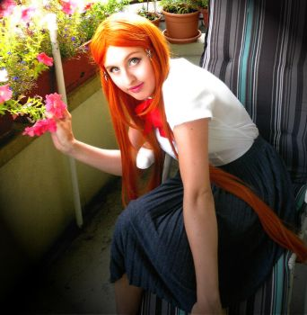 Orihime Cosplay Tryouts 6 by aquamarinesong