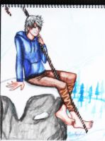 Drawing of Jack Frost ( Rise of the Guardians ) by GuillermoAntil