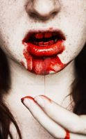 oh blood by Deliszja
