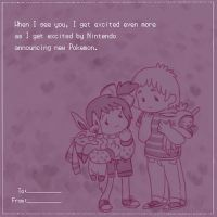 Pokemon Themed Valentine by dar-a