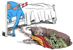 world sleeps while sri lankans die latuff