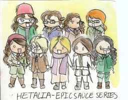 Hetalia- Epic Sauce Series by Puppy-eater
