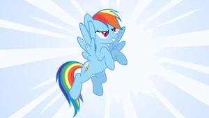 Rainbow Dash wallpaper by stevethepocket