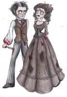 Sweeney Todd by LucieKJ