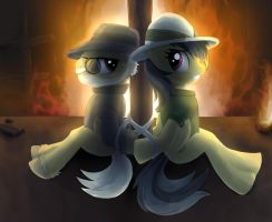 Daring Do and the Last Crusade by bdnv