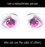Monochrome Eyes by ChromaticHearts
