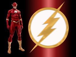 CFJ Flash WP by Superman8193