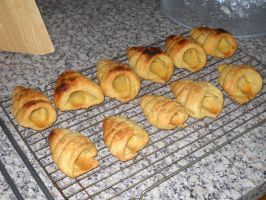 Puff Pastry Horn Cases by Bisected8