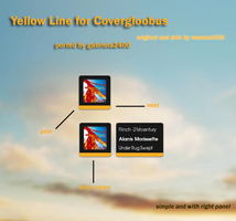 YellowLine for Covergloobus by gabriela2400