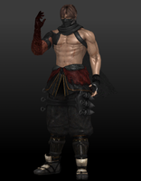 Ryu Hayabusa (True Fighter) by Sticklove