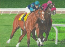 RACING by Prairie-Bayou