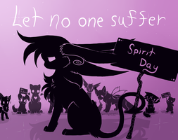Spirit Day- Show your Purple by Lynvana