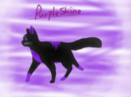 At with PurpleShineDraws! by Averfever123