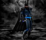 Batman new suit by hiram67