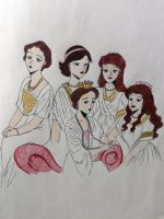 Alix and the Grand Duchesses 2 by EmpressofHeaven
