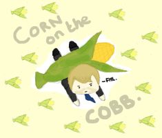 Corn on the Cobb by strawbetty