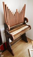Orgue steampunk by Ethis-Crea