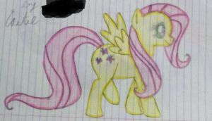 Fluttershy by TheGhost0170