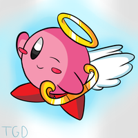 Kirby Tuesday- Cupid Kirby by thegamingdrawer