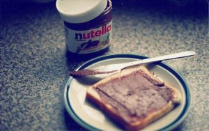 wallpaper i love nutellA by Analaurasam