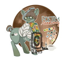 MLP OC AUCTION - Poetry Reading [CLOSED] by StyxLady
