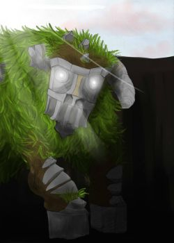 Shadow of the colossus by Decibel-Flem