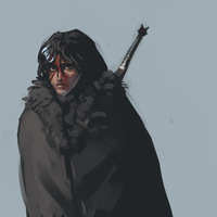 Jon Snow by Kylogram