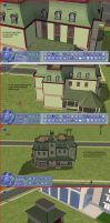 Sims 2 tutorial victorian home episode 2 by RamboRocky