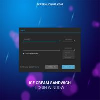 ICS Login Window by xNiikk