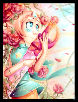 In Memory of Rose - Pearl Steven Universe by WalkingMelonsAAA