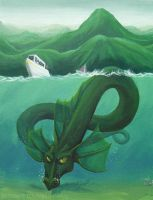 Loch Ness Monster by Terrizae