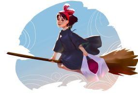 Kiki's Delivery Service by mangamie