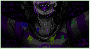 Gamzee: Go DaRk by leaving-eden