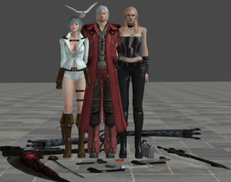xnalara dmc models part 1 by twinlightownz