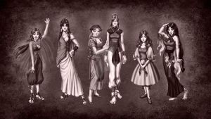 Six Sisters by SapphireGamgee