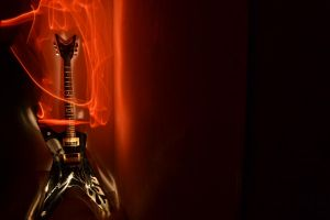 Guitar on Fire by wagn18