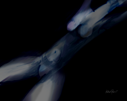 Blue Naked Woman by altergromit