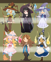 Witches 3 [CLOSED] by aketan-adopts