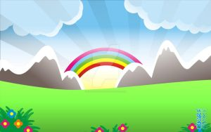Vectors - Cute Background 01 by oscarfuentes